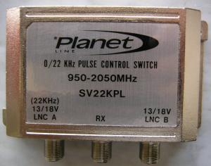 PULSE CONTROL SWITCH 950-2050 MHZ - TYPE SV22KPL