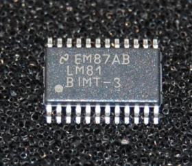 LM81BIMT-3 Monitor processor temperature controller