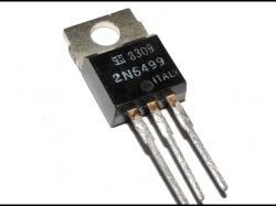 2N6499 SI NPN 350V 5A 5MHZ 80W TO220 POWER TRANSISTORS