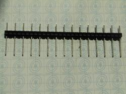 18 POLI CONNETTORE STRIP PASSO 5mm