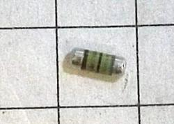 68 OHM 1%  SMM0204 Metal Film, Cylindrical Resistor