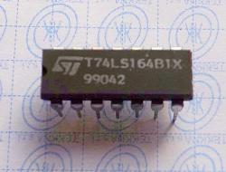 T74LS164B1X 8-Bit Serial In/Parallel Out Shift Register DIP14