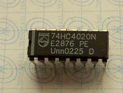 74HC4020N 14-stage binary ripple counter 16-PIN