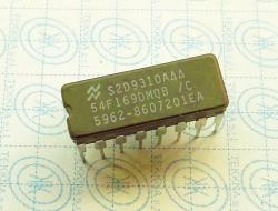 54F169DMQB 4-Stage Synchronous Bidirectional Counter 16-PIN