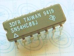 SN54HC08J HEX BUFFERS DRIVERS WITH OPEN-COLLECTOR HIGH-VOLTAGE OUTPUTS