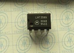 LMT358N Dual Differential Input Operational Amplifier