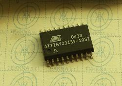 ATTINY2313V-10SI  8-bit Microcontroller with 2K Bytes In-System Programmable Flash