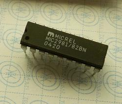 MIC2981/82BN 8 Channel 50V 500mA Driver Array High-Voltage High-Current Source