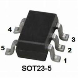 LM7301 Low Power, 4-MHz GBW, Rail-to-Rail Input-Output Operational Amplifier in SOT-23