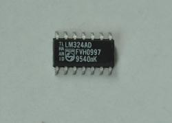 LM324AD    LOW POWER QUAD OPERATIONAL AMPLIFIERS