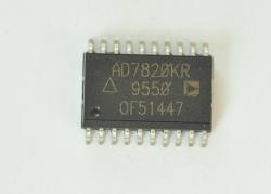 AD7820KR  LC2MOS HIGH-SPEED uP-COMPATIBLE 8-BIT ADC WITH TRACK/HOLD FUNCTION 20 SOIC