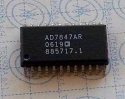 AD7847AR LC2MOS Complete, Dual 12-Bit MDACs