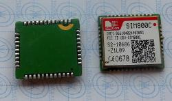 SIM800C Quad-band GSM/GPRS - SMT Embedded Module, 24MB Flash, AT commands