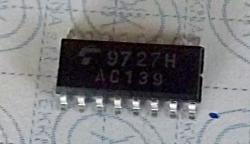74AC139 Dual 1−of−4 Decoder/Demultiplexer SMD 16-SO