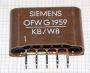 38.9MHZ OFWG1959 SAW FILTER SIEMENS SIL5
