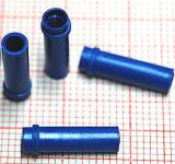 M3 DISTANZIATORE / SUPPORTO IN PLASTICA BLU 4x14mm