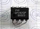 OP282GP Dual Low Power High Speed JFET Operational Amplifiers