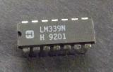 LM339N QUAD OPERATIONAL AMPLIFIERS HARRIS