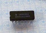 MM54C00J/883C QUAD 2-INPUT NAND GATE DIP14
