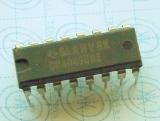 CD4049UBE 	 CMOS HEX BUFFERS/CONVERTERS 16-PIN