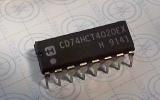 CD74HCT4020 EX  High Speed CMOS Logic 14-Stage Binary Counter DIP16
