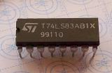 T74LS83 AB1X 4-Bit Binary Full Adder with Fast Carry DIP16