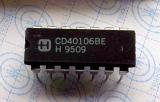 CD40106BE CMOS HEX SCHMITT TRIGGERS DIP14