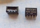 ROM-0505S Isolated DC/DC Converters 1W DC/DC 3kV UNREG 5Vin 5Vout
