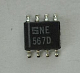 NE567D Tone decoder/phase-locked loop SO8