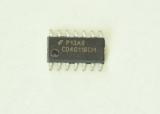 CD4011BCM Quad 2-Input NOR Buffered B Series Gate  SOIC14