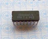 CD4040BF CMOS RIPPLE-CARRY BINARY COUNTER DIVIDERS DIP14
