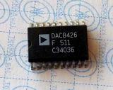 DAC8426F  Quad 8-Bit Voltage Out CMOS DAC Complete with Internal 10 V Reference