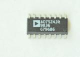 AD7524JR 8 Bit Digital to Analog Converter 16-SO SMD