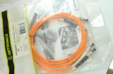 OPTIMO 62.5/125 3mm 2M Fiber Pigtail ST Orange